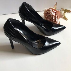 Black Stiletto Heel Steve Madden size 7.5